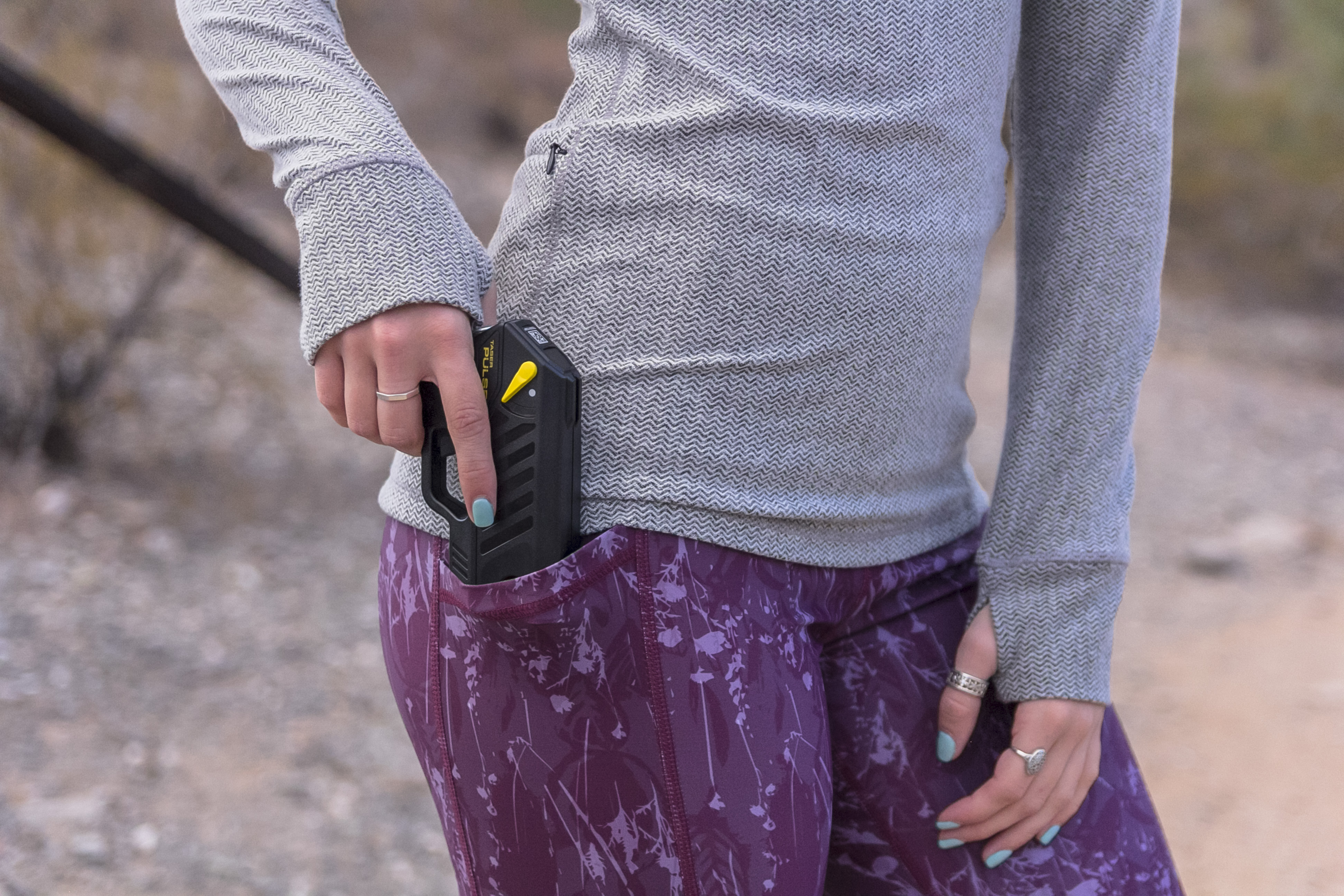 Carrying a TASER Device