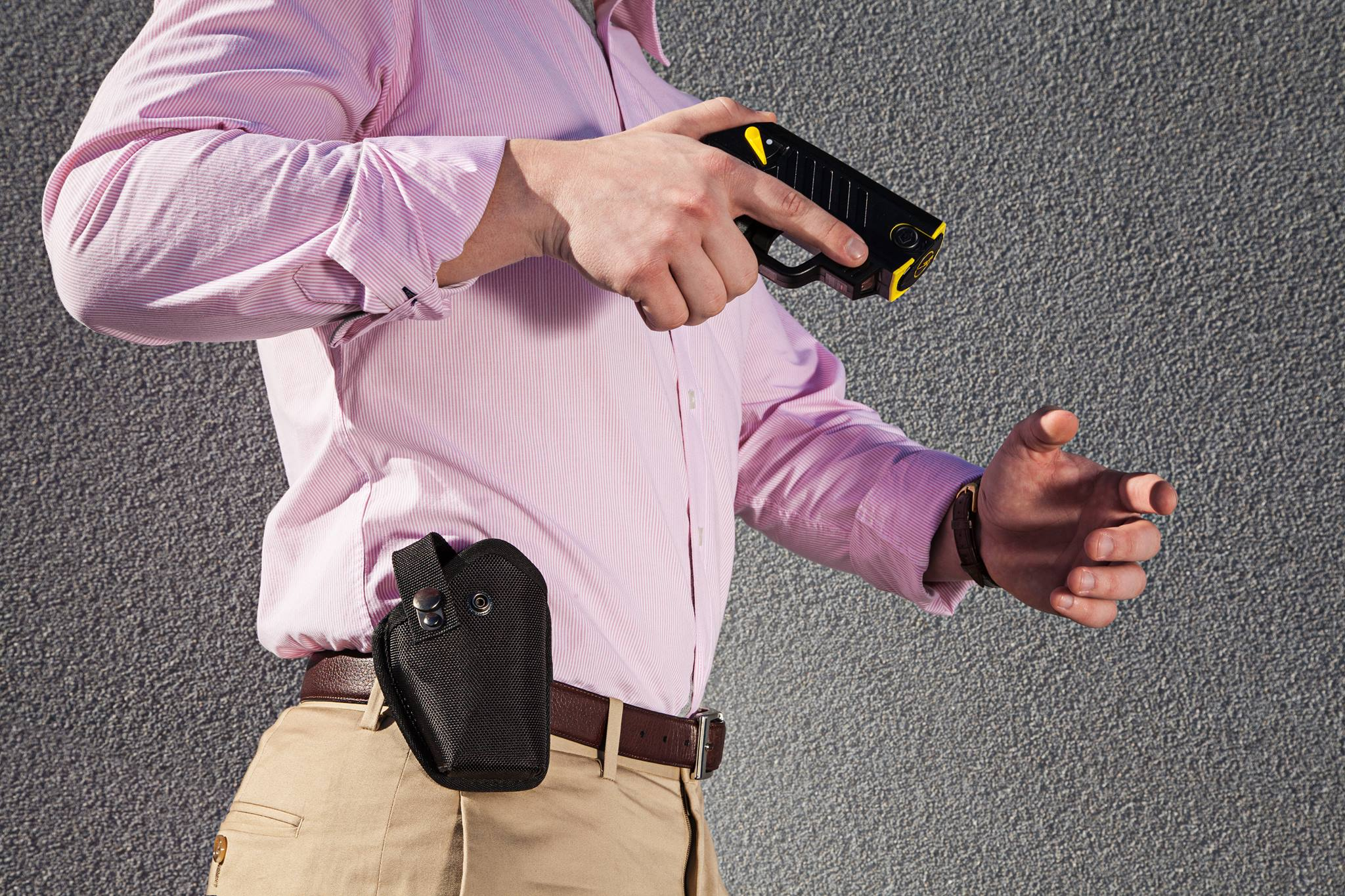 spark testing your TASER Device